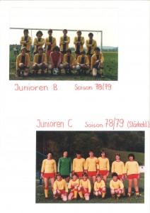 B und C Junioren 78 / 79